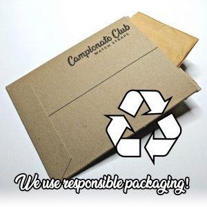 We use responsible packaging!