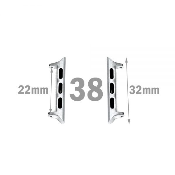 38mm apple watch adapter for 22mm watch bands