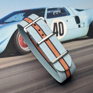 Ford GT Formula Ford Racing GT40 Gulf Gasoline Porsche LeMans Vintage Modern Chronograph